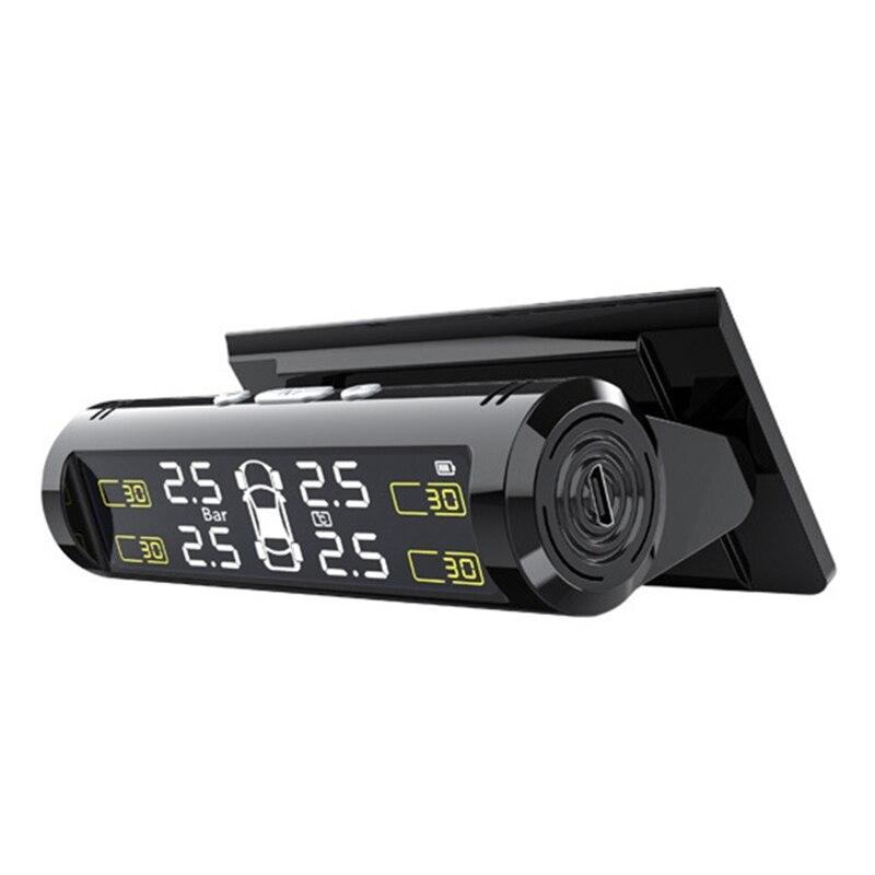 TPMS Automobile Universal Digital Car Tyre Pressure Monitor Monitoring System Digital LCD Display Au