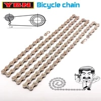 ybn bicycle chain 8910112 speed mountain road bicycle chain compatible with sram shimano unpackaged