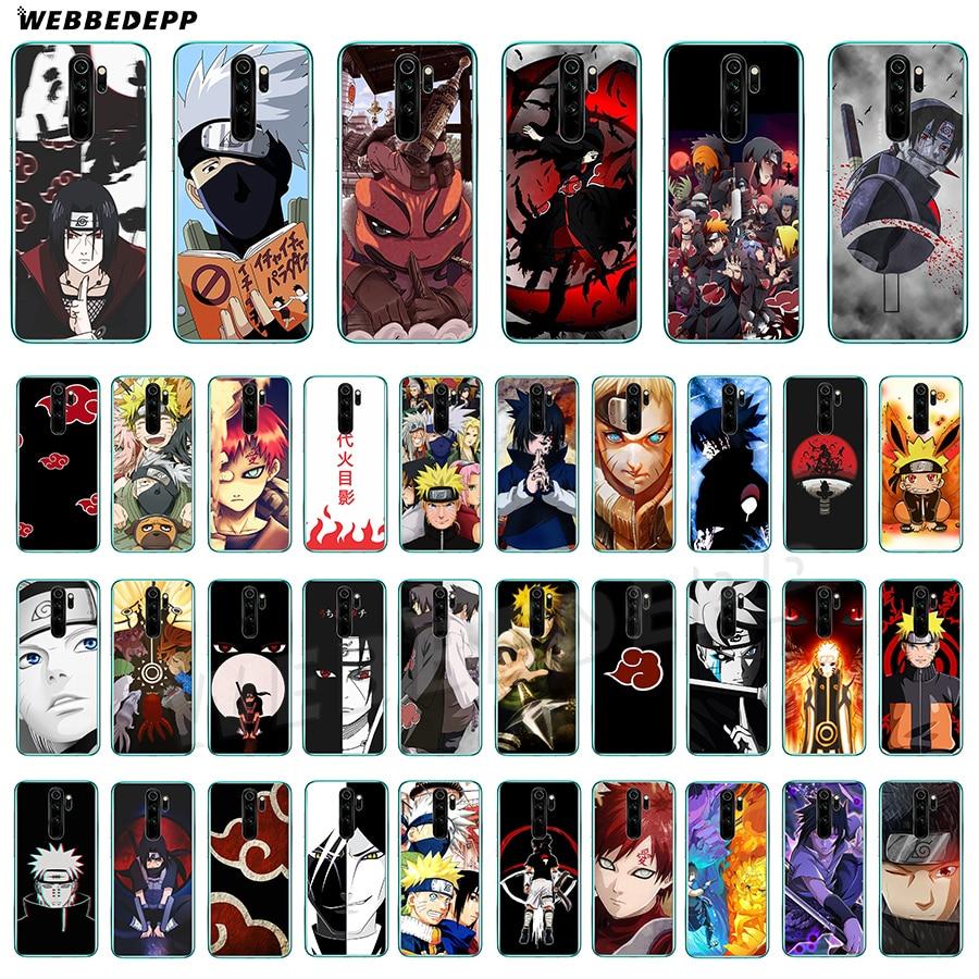 Soft TPU Silicone Back Cover Case for Redmi Note 8 Pro Transparent Case Naruto