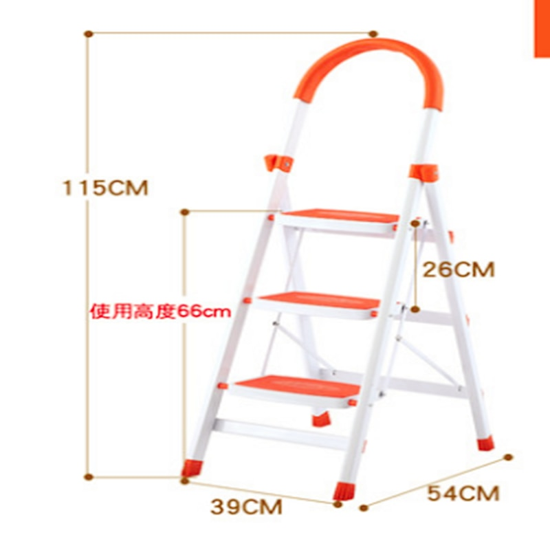 Multi-function Folding Thicken Wide Pedal Aluminium Alloy Material Antiskid Mobile Herringbone Ladders