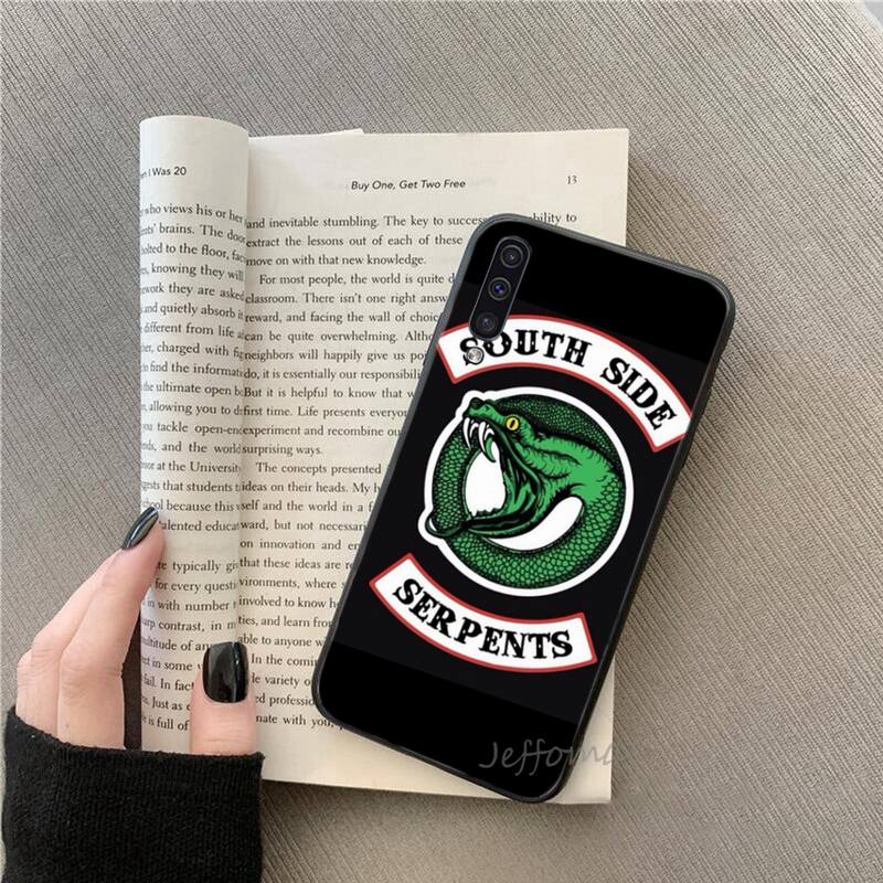 TVshow Riverdale Southside Serpent Phone Cases For Samsung galaxy S note 7 8 9 10 20 fe edge A 6 10 20 30 50 51 70 lite plus  - buy with discount