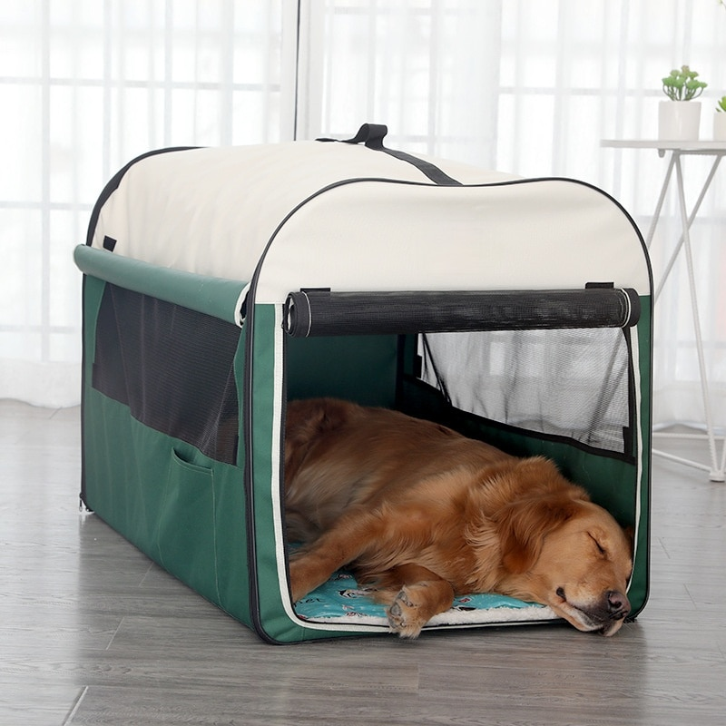 Dog Kennel Foldable and Portable with Ventilation, Mosquito-proof and Sun-Proof Indoor and Outdoor Outdoor Tent Pets Universal