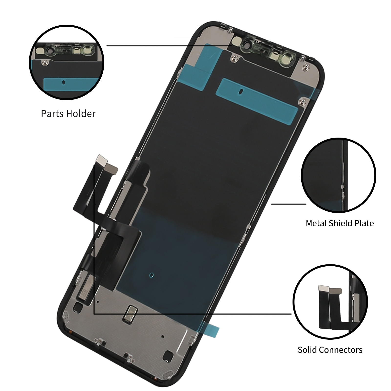 for iPhone 11 Screen Replacement for iPhone 11 Touch Digitizer Screen Assembly LCD Display Full Tools kit 3D Touch True Tone enlarge