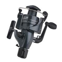 CB140-640 דיג סליל נחש בצורת גלגל מסתובב סליל חוט קו כוס גרור מערכת 6 BB סליל דיג מלוחים דיג