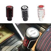 Auto Manually Aluninum Head Gear Shift Knob Universal Car Interior P Parts Car shifter Metal Gear Shifter Racing Cool
