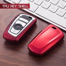 Télécommande 2/3 Bouton Voiture porte-clés porte-clés Fit Pour BMW F31 F34 F11 F07 F20 F25 F26 Z4 X1 X3 X4 M1 M2 M3 M4 M5 E90 E34 E56