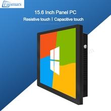 Faismars 15.6 Inch 1920X1080 Industriële Alles In Een Pc Met I7 8th Gen 8565U Touch Screen Weerstand Gespen mount Metalen Panel Pc