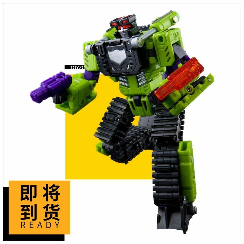 Neue Transformation TFC Spielzeug Hercules Devastator Neckbreaker Action figure in lager