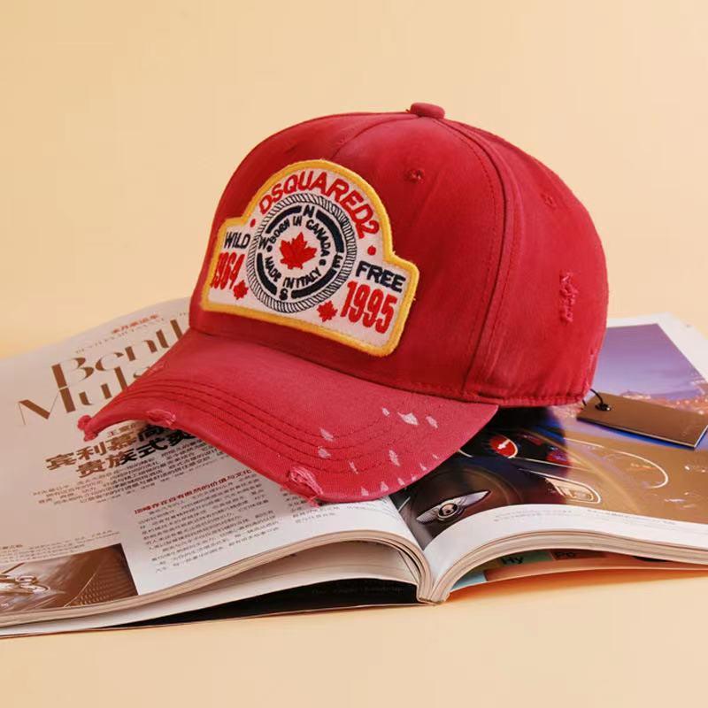 2021 dsq2 брендовая мужская бейсболка, Высококачественная 100% хлопковая Регулируемая Бейсболка унисекс с буквой s, Черная кепка для мужчин