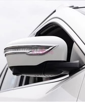 for nissan murano chrome car styling door side mirror cover overlay rear view protector bumper trim 2015 2018 accessories