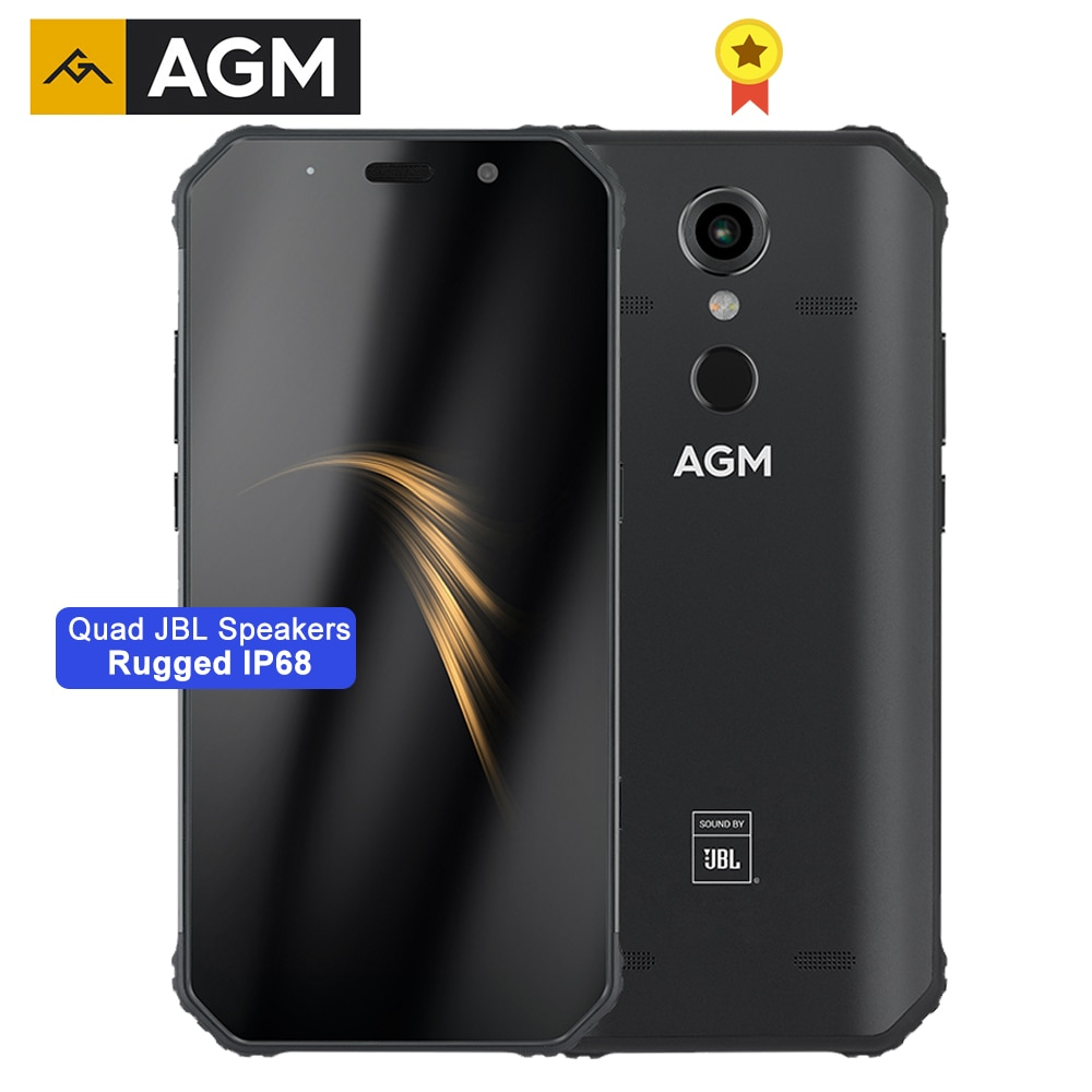 AGM A9 هاتف ذكي متين 5.99