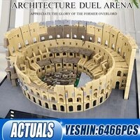 6544pcs mould king 22002 the colosseum moc 49020 building blocks toys children puzzle assembly bricks kids christmas gifts