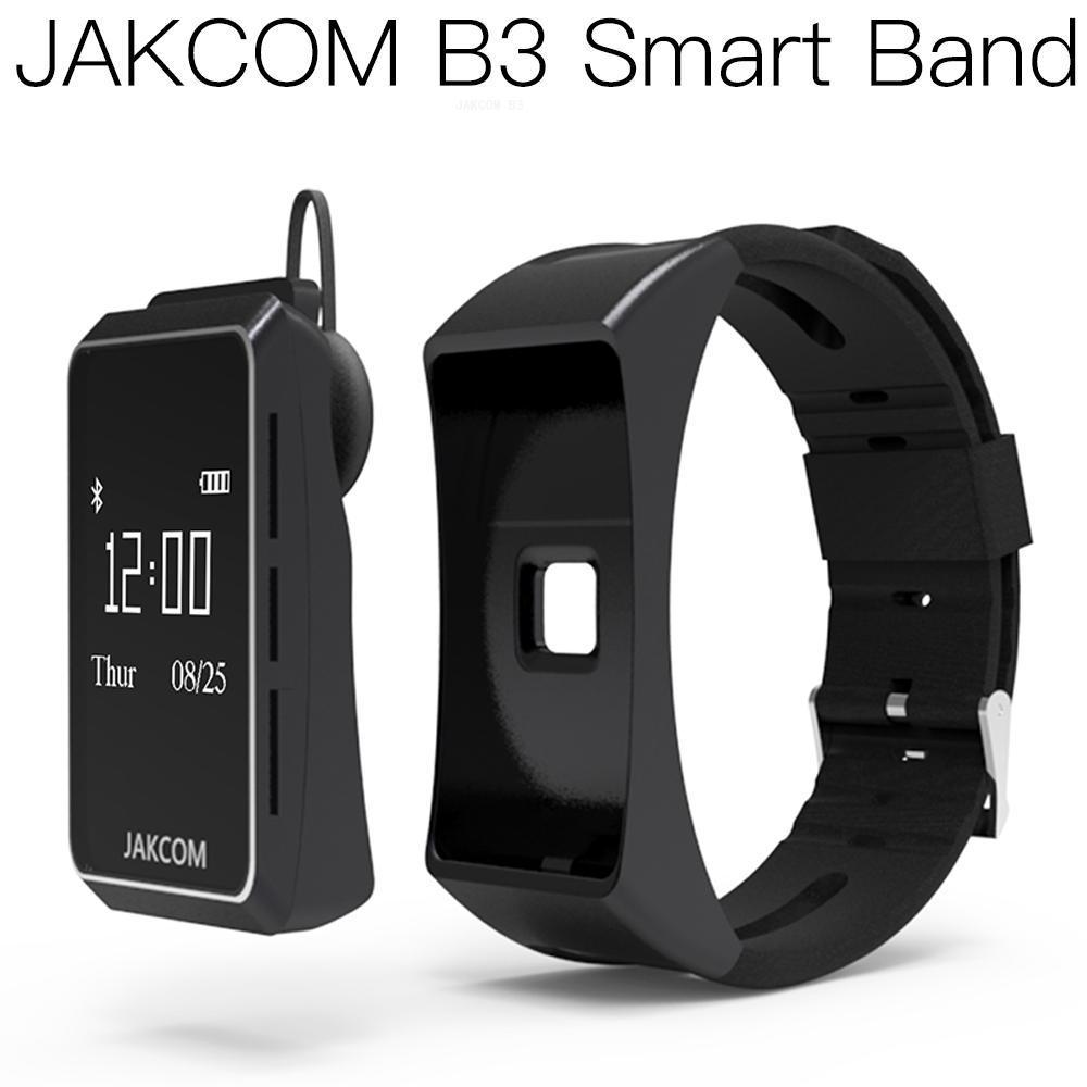 Reloj inteligente JAKCOM B3, mejor que hey plus 1s, monitor inteligente stratos gt 2 series 3 band 6