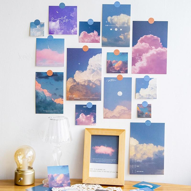 10-fogli-pacco-diario-spazzatura-luna-nuvola-cielo-tramonto-poster-poster-carta-album-scrapbooking-fai-da-te-frigorifero-da-parete-carta-decorativa