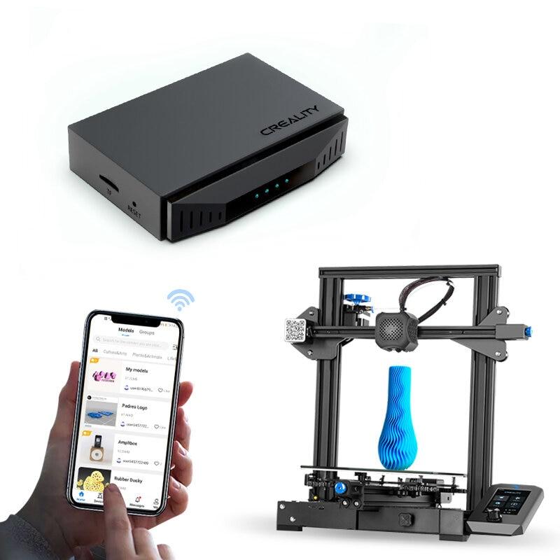 Creality 3D WIFI مربع عن بعد واي فاي دعم التحكم عن بعد و الطباعة الرصد ل CR-10 Ender-3 Ender-5 سلسلة 3D طابعة أجزاء