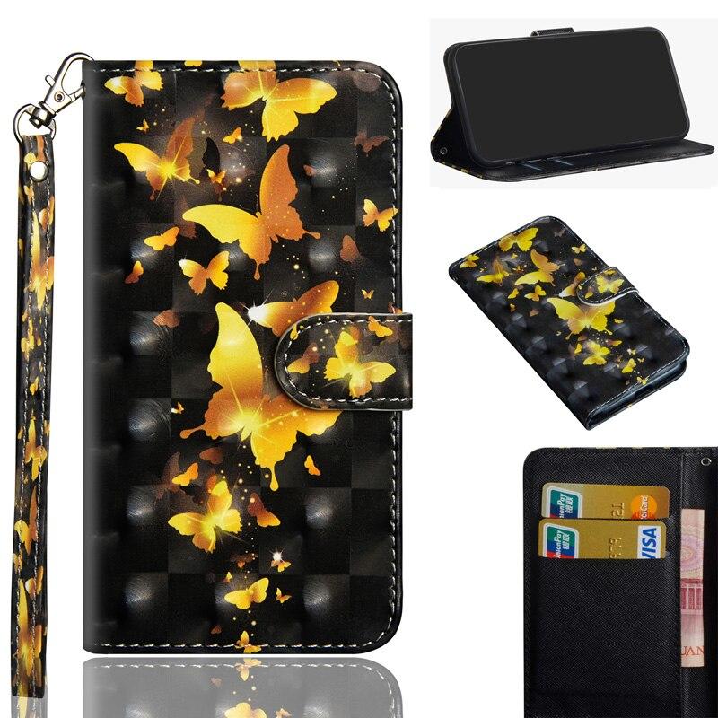 Luxus 3D PU Leder Flip Fällen Für Xiaomi Redmi Hinweis 8 Fall Brieftasche Tasche Fall Für Xiomi Redmi Hinweis 8 pro MI 10 Abdeckung