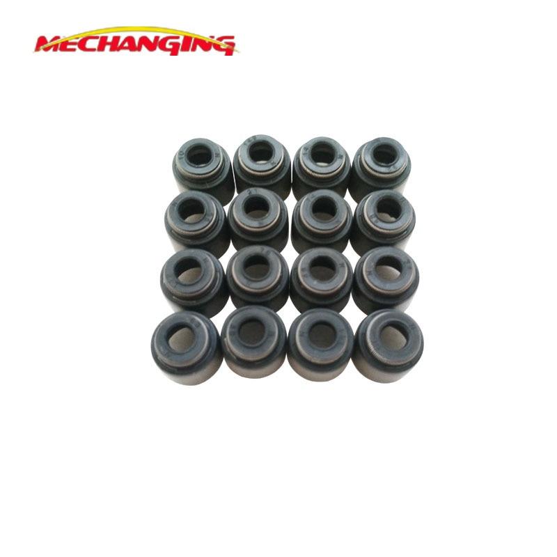 ZD30 ZD30DDTI para NISSAN 16 Uds de vástago de válvula de aceite juntas de motor piezas de motor repuestos automotrices junta de motor 13207-D0100