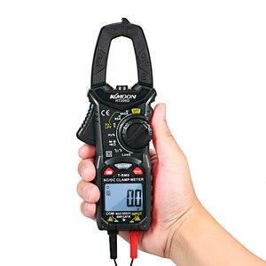 Portable Digital Clamp Meter for Measuring Voltage Current Resistance Frequency Transistors Test NCV Clamp Multimeter
