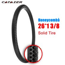 26 pouces 26x1 3/8 nid dabeille solide pneu Non gonflage vtt solide engrenage fixe route vélo pneu vélo pneu cyclisme Tubeless pneu