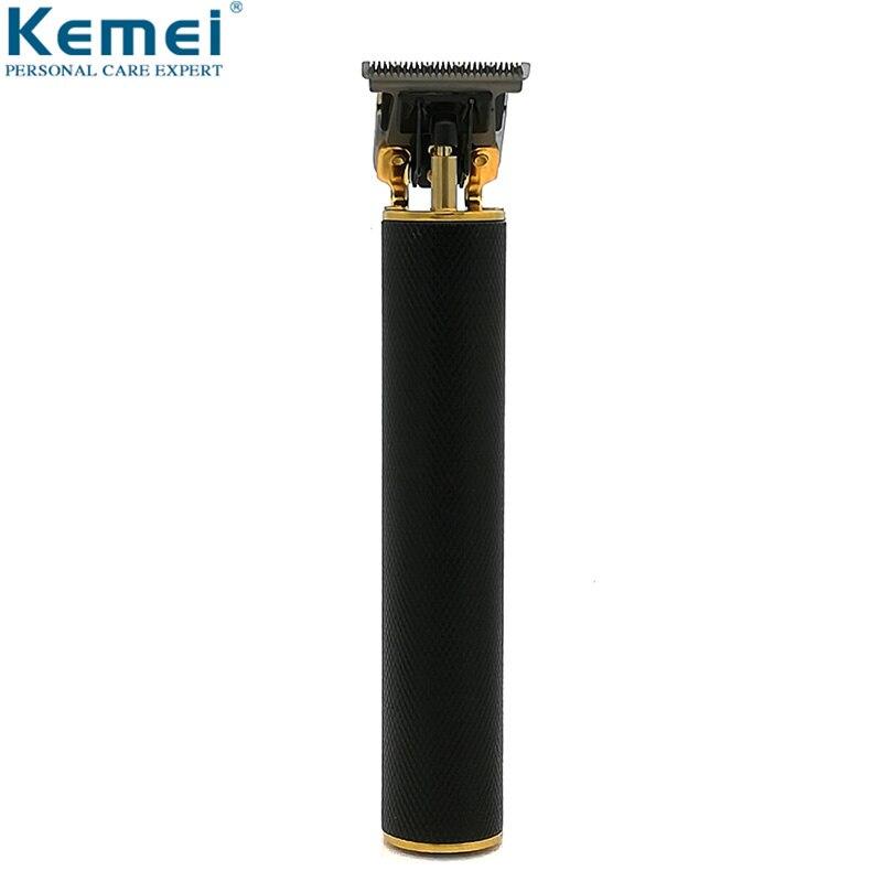 Kemei KM-1971 maquinilla eléctrica para cortar el pelo recargable sin cable para hombres recortadora de barba de 0mm cortadora de pelo de cabeza calva
