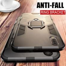 Bumper Case For Xiaomi Mi 9 Lite Case Metal Ring Holder Hard Magnet Phone Back Case For Xiaomi mi9 Lite Mi 9T Pro 5G 9 T Cover