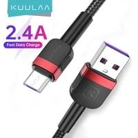 kuulaa micro usb cable for xiaomi mi redmi 7 fast charging charger microusb charge cable for samsung s7 huawei honor 8x usb cord