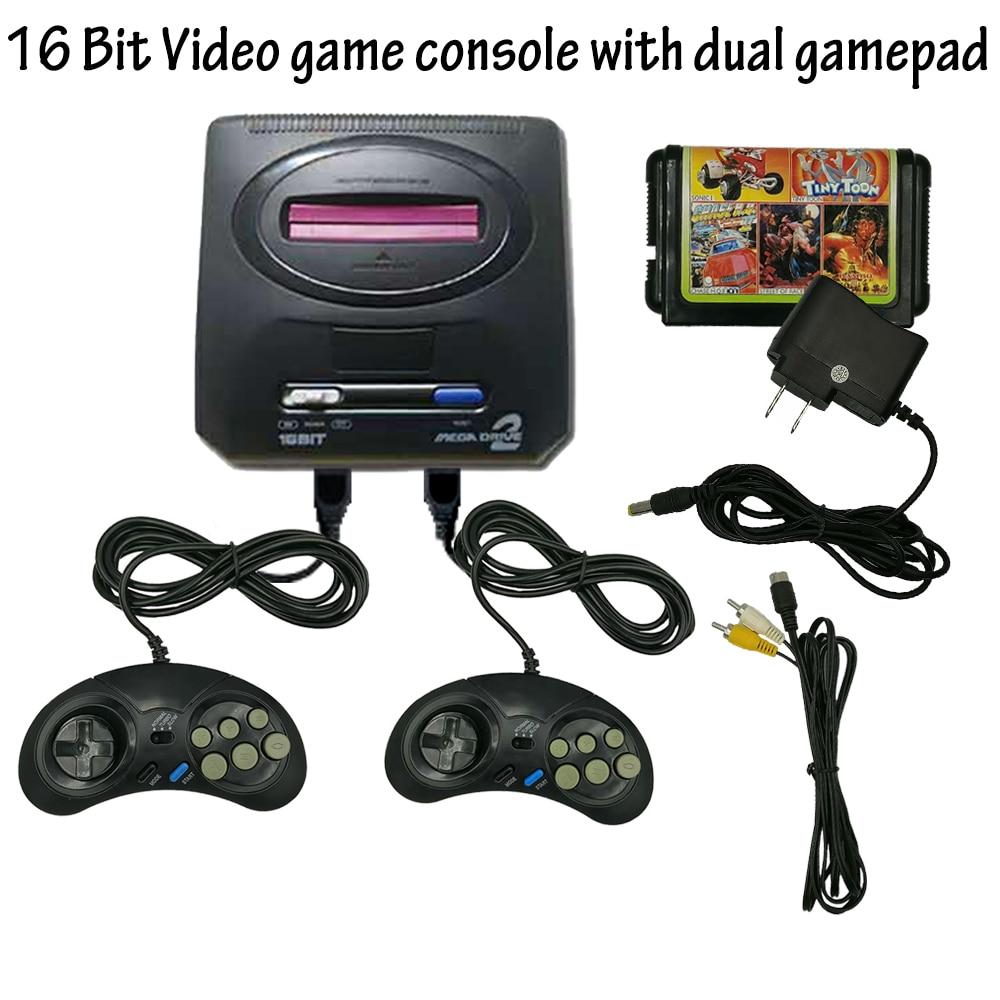 Mini Consola de Videojuegos TV Retro para Sega MegaDrive, 16 bits, 2019...