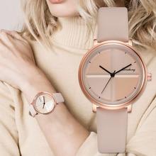Exquise Simple Style femmes montres petite mode Quartz dames montre livraison directe Top marque élégante fille Bracelet montre