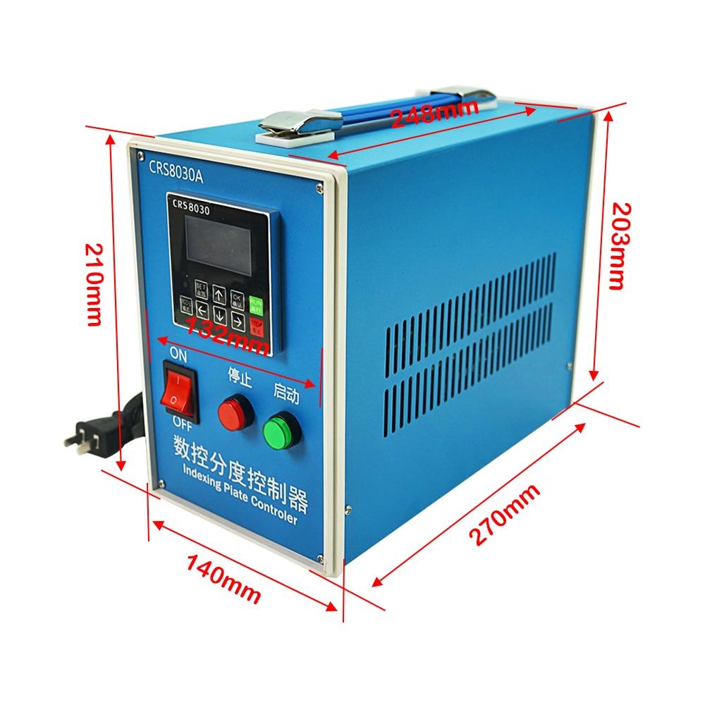 Dividing head controller BOX for CNC stepper motor 4th axis