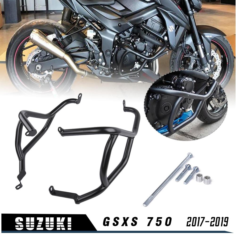 Engine Bumper Guard Crash Stunt Cage Crash Bar Engine Frame Guard Protector for Suzuki GSXS GSX-S GS XS 750 2017 2018 2019