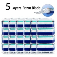 shaving razor blades for fusion 5 face shaver cassettes straight razor blade shave beard case replaceable heads for men
