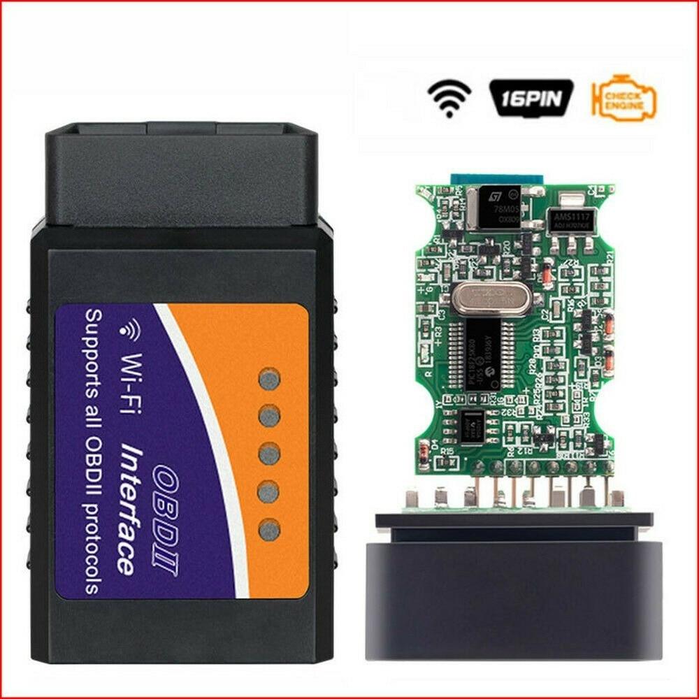 x431 creader 3001 full obd2 obdii code reader scan tools cr3001 obdii car diagnostic tool pk ad310 elm327 om123 scanner ELM327 WiFi Code Reader OBD2 OBDII Car Diagnostic Scanner Code Reader Tool