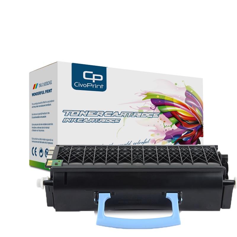 Civoprint-خرطوشة حبر متوافقة مع شريحة E350 E352 ، لـ lexmark E350 352 352d 352dn