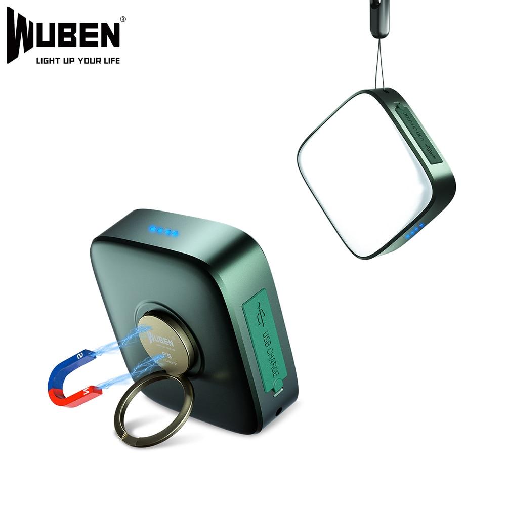 wuben f5 acampamento luz banco de potencia lanterna 500 lumens temperatura cor multipla