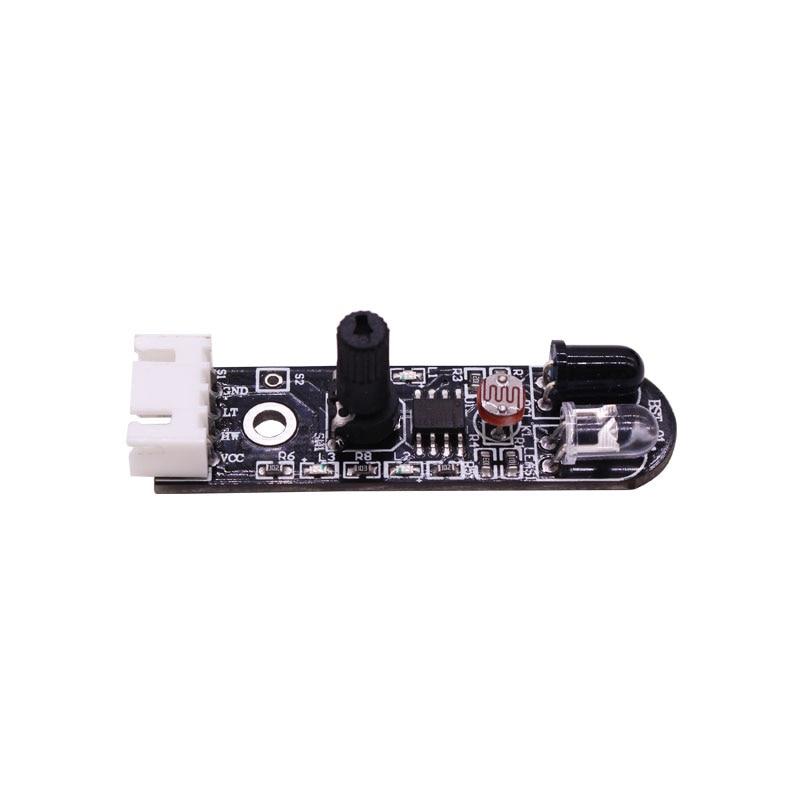 Taidacent Smart Car Avoid Obstacle Sensor Infrared Sensor Photoelectric Switch IR Follow Light Sensor Light Seeking недорого