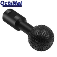ball gouge spherical spindles shaped wood gouge power carving attachment for angle grinder wooden groove carving tool