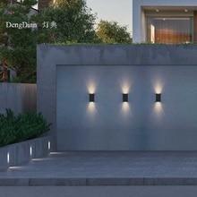 Neueste LED up down licht outdoor wand licht Wasserdichte aluminium wand lampe veranda Lichter 2W für flur balkon gang korridor