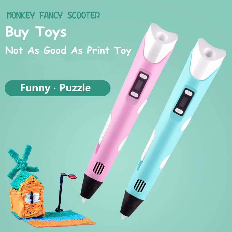 diy ly drawbot pen drawing robot machine v3 shield drawing toys DIY 3D Pen Printing Toys For Children Intelligent Drawing Printing Pen With Digital Display Creative Toy For Kids Design Drawing