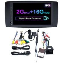Novel-Android 9.0 Car Radio DVD Player for Mercedes Benz R Class W251 R280 R300 R320 R350 R500 R63 AMG 2006-2012 GPS Navigation
