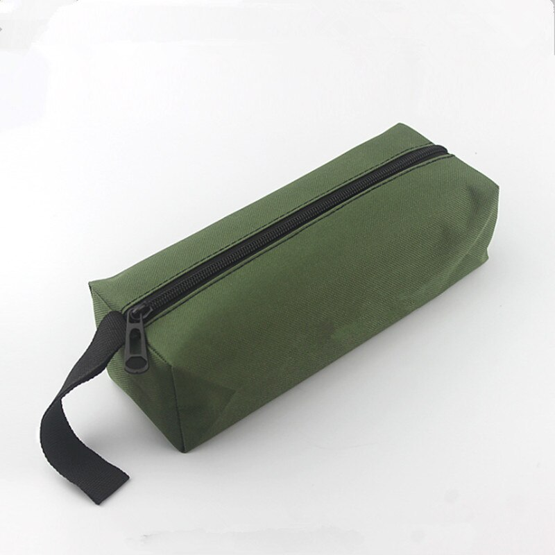 Taşınabilir elektrikli alet çantası el alet çantası su geçirmez keten çantalar çok fonksiyonlu vida matkap ucu küçük araçlar depolama