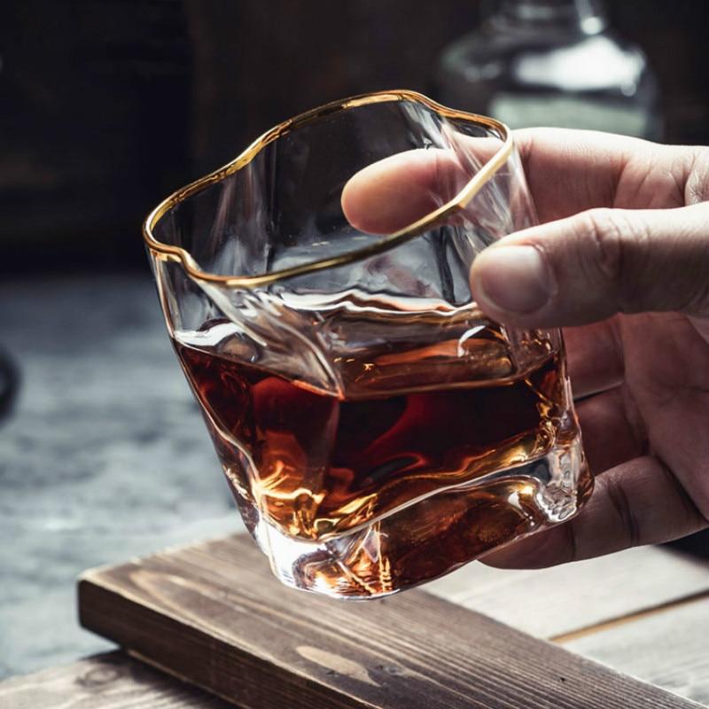 Juego De Bar De whisky transparente con Cristal De copa De vino,...