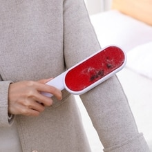 Double Sided Reusable Lint Remover Clothing Pet Hair Remover Static Brush Coat Suit Brush Epilator Sweater Household Cleaning
