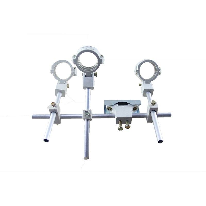 KU LNB bracket LNB bracket can hold up to 4 ku band LNB 4 satellite LNB for ku antenna with 1 dish-like high quality