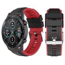 Pulseira de silicone para honra relógio mágico 2 46mm 42mm smartwatch pulseiras de pulso magicwatch2 acessórios 22mm