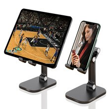 Leehur teleskopowy uchwyt na telefon stojak na iphone7 8 samsung telefon iPad pulpit leniwy uchwyt na Tablet do oglądania TV Net Class Office