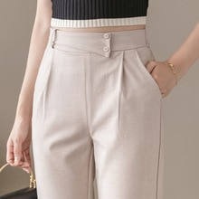 Yg Brand Women's Wear, 2021 Spring And Autumn New Linen Harem Pants, Leggings Women, Summer Thin Ice