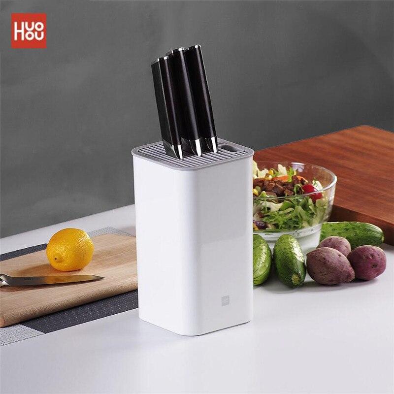 Новейший оригинальный держатель кухонного ножа Huohou, многофункциональная стойка для хранения, держатель для инструментов, подставка для ножей, кухонные аксессуары