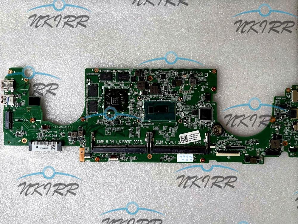 DA0AM6MB8E0 DA0AM6MB8F1 0CRDXX 0N9YM9 CRDXX N9YM9 I7 CPU DDR3L Radeon R7 M270 4GB placa base para Dell Inspiron 7000 de 7547 a 7548