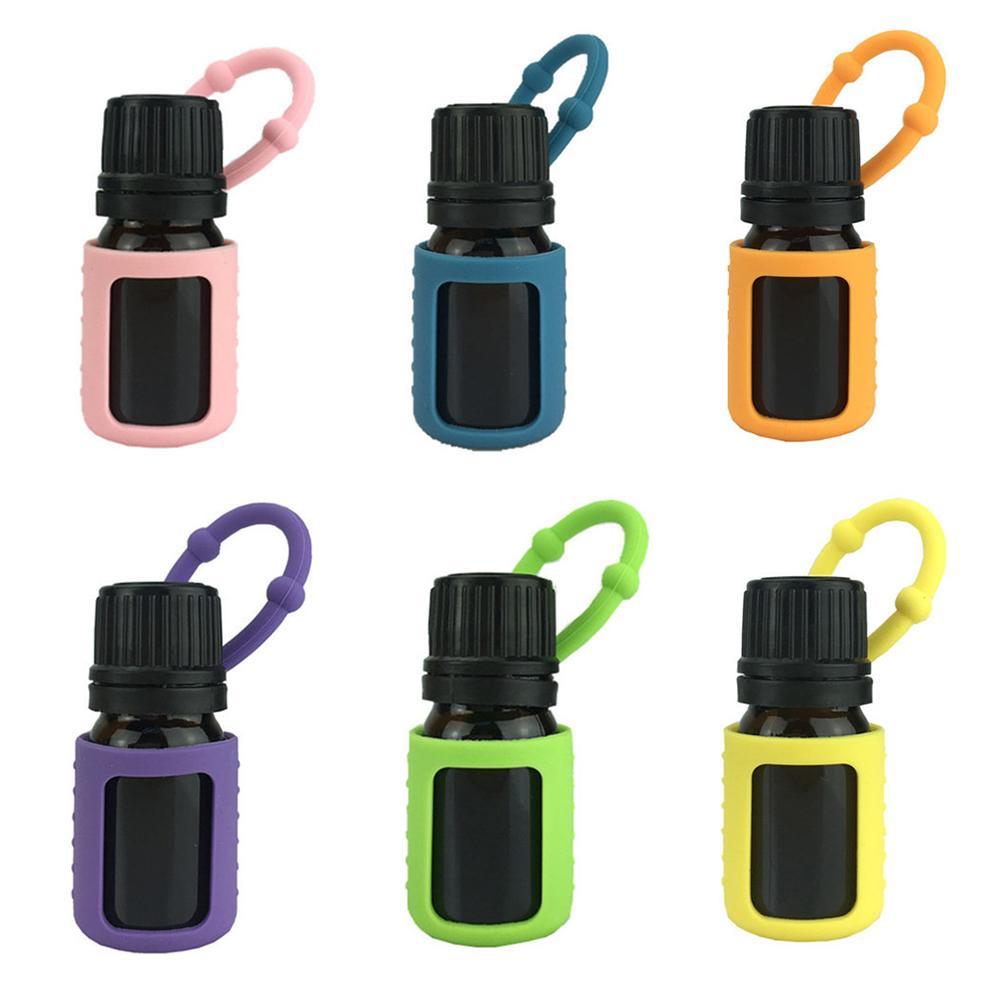1/10 Grid PU Essential Oil Storage Bag Sub-bottle Storage Bag Portable Key Case Essential Oil Organizer Home Outdoor Travel 1-2m
