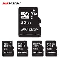Hikvision слот для карт памяти Microsd карта Micro SD класса 10 32GB/64GB 128 ГБ оперативной памяти, 16 Гб встроенной памяти, высокая Скорость TF карты для Android ка...